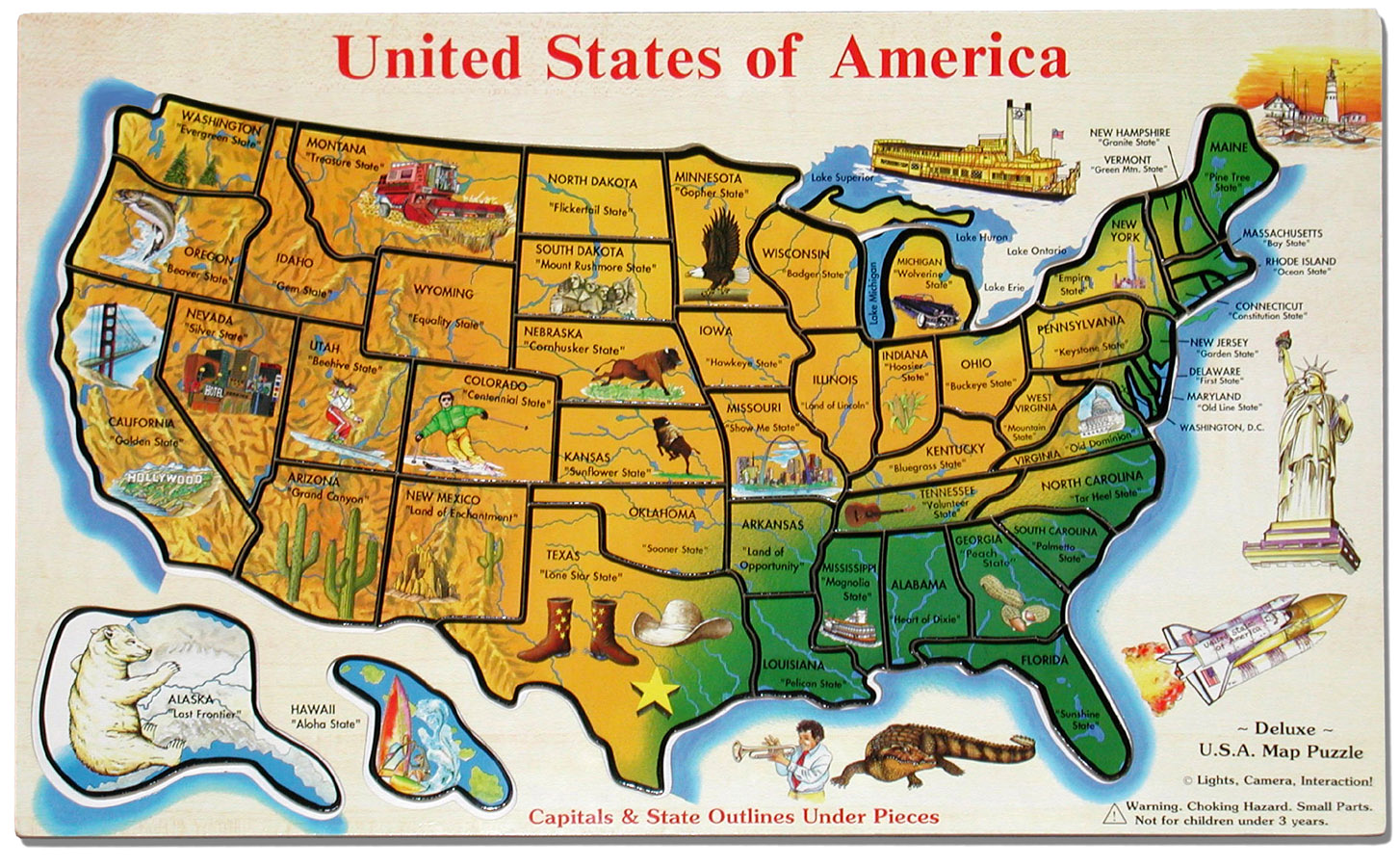 Us Map Interactive Travel
